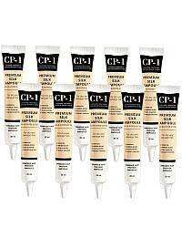 Esthetic House CP-1 Premium Silk Ampoule - Несмываемая сыворотка для волос с протеинами шелка 10х20 мл