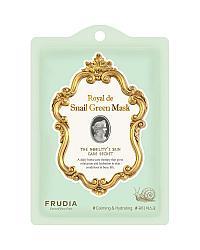 Frudia Royal de Snail Green Mask - Омолаживающая маска с экстрактом улитки 25 мл