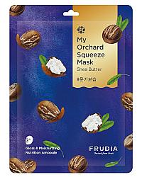 Frudia My Orchard Squeeze Mask Shea Butter Set - Восстанавливающая маска с маслом ши 20 мл