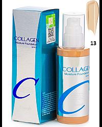 Enough Collagen Moisture Foundation SPF 15 - Тональный крем для лица увлажняющий 13 тон 100 мл