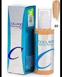 Enough Collagen Moisture Foundation SPF 15 - Тональный крем для лица увлажняющий 23 тон 100 мл