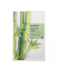 Mizon Joyful Time Essence Mask Bamboo - Маска тканевая для лица с экстрактом бамбука 23 г