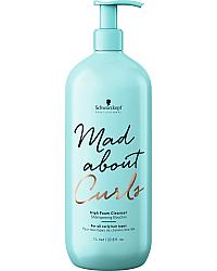 Schwarzkopf Mad About Curls High Foam Cleanser - Очищающий крем-шампунь 300 мл