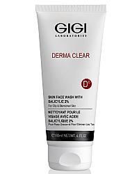 GIGI Derma Clear Skin Face Wash - Мусс очищающий с 2% салициловой кислотой 180 мл