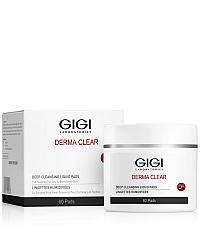 GIGI Derma Clear Deep Cleansing Liquid Pads - Очищающие ватные диски 60 шт.