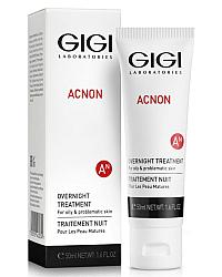 GIGI Acnon Overnight Treatment - Крем ночной 50 мл