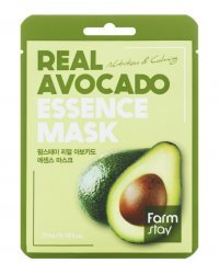 FarmStay Real Avocado Essence Mask - Маска тканевая для лица с экстрактом авокадо 23 мл