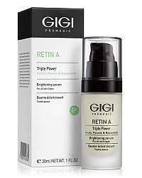 GIGI Retin A Triple Power Brightening Serum - Осветляющая сыворотка для лица 30 мл