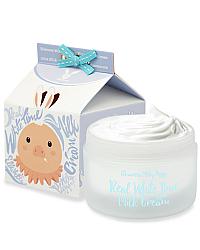 Elizavecca Real White Time Milk Cream - Крем осветляющий для лица и тела с козьим молоком 100 гр