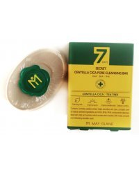 May Island 7Days Secret Centella Cica Pore Cleansing Bar - Мыло для проблемной кожи 100 г