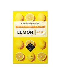 Etude House Therapy Air Mask Lemon - Маска тканевая с экстрактом лимона 20 мл