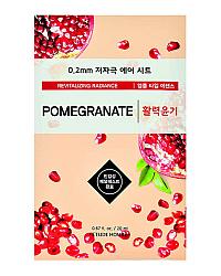 Etude House Therapy Air Mask Pomegranate - Маска тканевая с экстрактом граната 20 мл