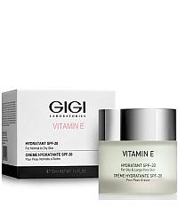 GIGI Vitamin E Hydratant SPF 20 for normal to dry skin - Крем увлажняющий для нормальной и сухой кожи 50 мл