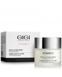 GIGI Vitamin E Night And Lifting Cream - Крем ночной для лица 50 мл