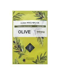 Etude House Therapy Air Mask Olive - Маска тканевая с маслом оливы 20 мл