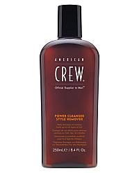 American Crew Power Cleanser Style Remover Shampoo - Шампунь очищающий волосы от укладочных средств 250 мл