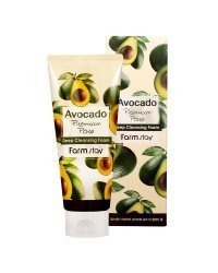 FarmStay Avocado Deep Cleansing Foam - Пенка очищающая с экстрактом авокадо 180 мл