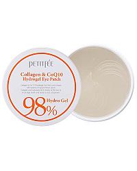 PETITFEE Collagen&CoQ10 Hydrogel Eye Patch - Патчи для глаз гидрогелевые с коллагеном 60 шт