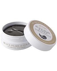 PETITFEE Black Pearl & Gold Hydrogel Eye Patch - Гидрогелевые патчи для глаз 60 шт