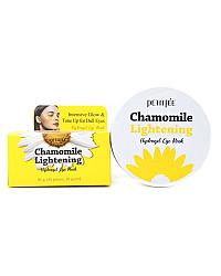 PETITFEE Chamomile Lightening Hydrogel Eye Mask - Осветляющие патчи с экстрактом ромашки 60 шт