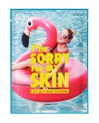 I'm Sorry For My Skin S.O.S. Jelly Mask-Soothing - Маска для лица после солнца 33 мл