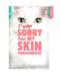 I'm Sorry For My Skin рH5.5 Jelly Mask-Soothing - Маска для лица успокаиващая 33 мл