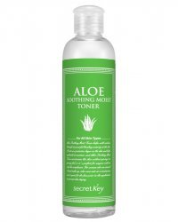 Secret Key Aloe Soothing Moist Toner - Тонер для лица с экстрактом алоэ 248 мл