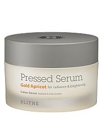 Blithe Pressed Serum Gold Apricot - Сыворотка-крем спрессованная для сияния кожи лица 50 мл