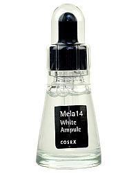 CosRx Mela 14 White Ampule - Ампульная сыворотка против пигментации для отбеливания кожи 20 мл
