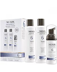Система 6 для заметно редеющих жестких, химически обработанных или натуральных волос
