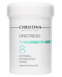 Christina Unstress Optimal Hydration Mask - Оптимальная увлажняющая маска (шаг 8) 250 мл