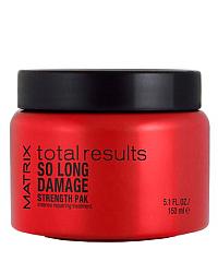 Matrix Total Results So Long Damage Strength Pak Intensive Masque - Маска для восстановления волос, 150 мл