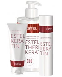 Estel Keratin - Домашний уход для кератинизации волос