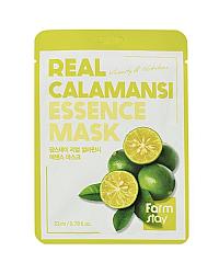 FarmStay Real Calamansi Essence Mask - Маска тканевая для лица с экстрактом каламанси 23 мл
