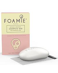 Foamie Floral Flair - Твердый шампунь для поврежденных волос 100 г