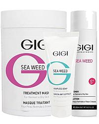 Sea Weed - Матирующая линия для комбинированной и жирной кожи