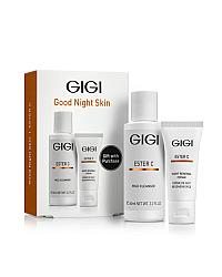 GIGI Ester C Good Night Skin - Дорожный набор для ухода за кожей лица перед сном