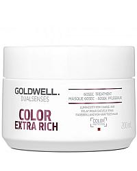 Goldwell Dualsenses Color Extra Rich 60sec Treatment – Интенсивный уход за 60 секунд для окрашенных волос 200 мл