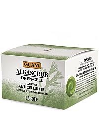 Guam ALGASCRUB Dren-Cell - Скраб с эфирными маслами дренажный для тела 300 мл