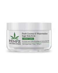 Hempz Fresh Coconut and Watermelon Sugar Body Scrub - Скраб для тела Кокос и Арбуз 176 г