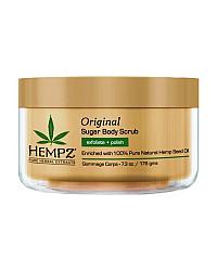 Hempz Original Herbal Sugar Body Scrub - Скраб для тела Оригинальный 176 г