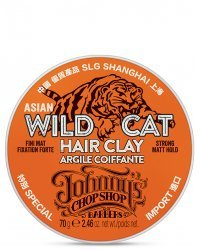 Johnny's Chop Shop Wild Cat Hair Sculpting Clay - Матирующая глина для волос 70 г