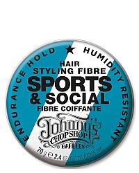 Johnny's Chop Shop Sports & Social Fibre - Файбер для устойчивой фиксации 70 г