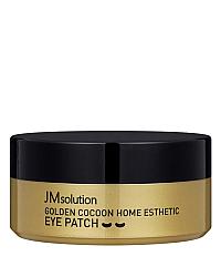 JMsolution Golden Cocoon Home Esthetic Eye Patch - Патчи с экстрактом золотого шелкопряда 60 шт