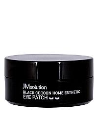 JMsolution Black Cocoon Home Esthetic Eye Patch - Патчи с экстрактом черного шелкопряда 60 шт