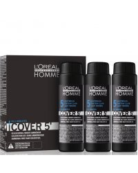 L'Oreal Professionnel Homme Cover - Тонирующий гель Кавер 5 (№5 светлый шатен)