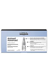 L'Oreal Professionnel Serie Expert Aminexil Advanced - Лосьон в монодозах от выпадения волос, 10х6 мл