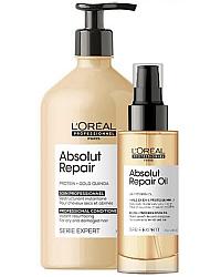 Expert Absolute Repair Gold - для поврежденных волос