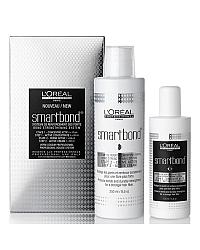 L'Oreal Professionnel Smartbond Mini Kit - Бондинг для волос (набор для салона) Этап 1 125 мл + Этап 2 2 х 250 мл