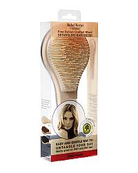 Michel Mercier Wooden Detangling Brush for Fine hair - Щетка деревянная для тонких волоc